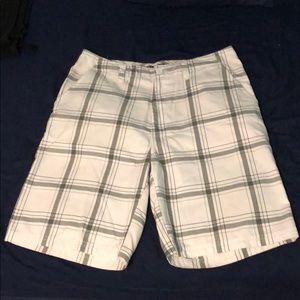 Quiksilver plaid shorts